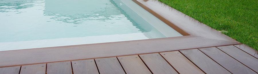 devis plage de piscine en bois exotique. Black Bedroom Furniture Sets. Home Design Ideas