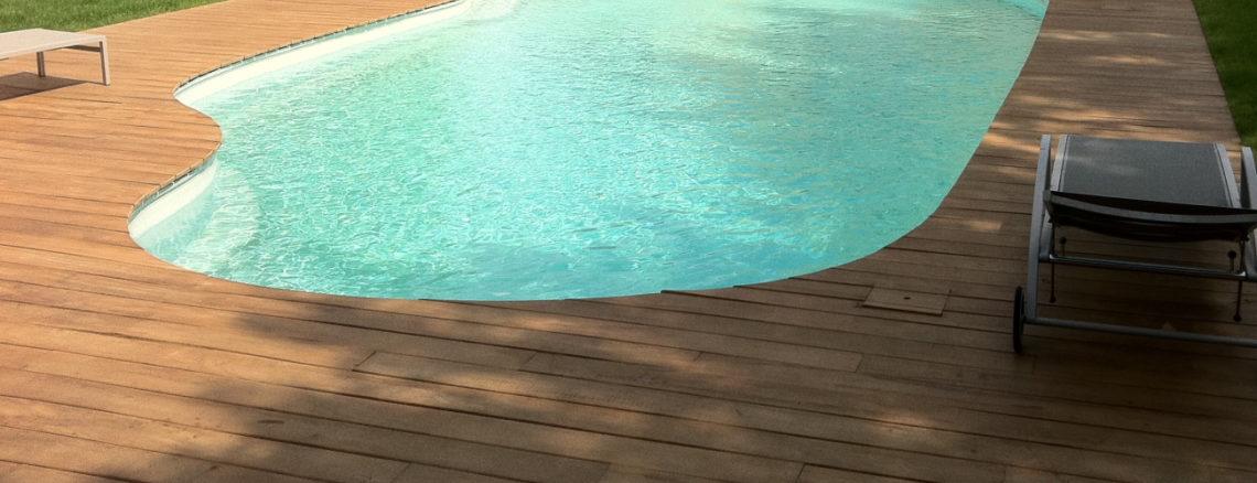 Plage de piscine cumaru Oléron