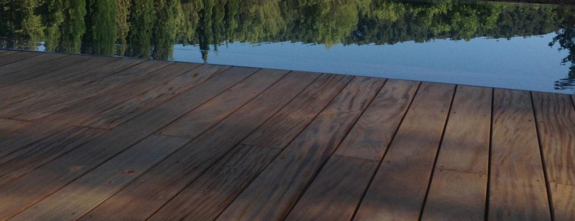 Plagde de piscine teck Aix en provence